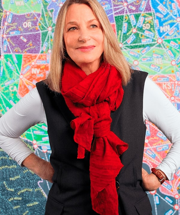 Paula Scher, Graphic Designer and Partner, Pentagram